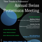 Annual Swiss Proteomics Meeting 2018-Montreux