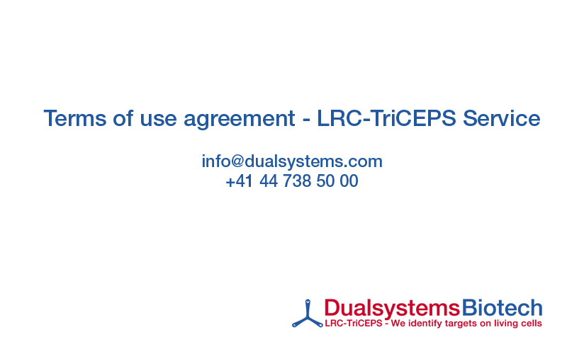 Terms Of Use Agreement Dualsystems Biotech